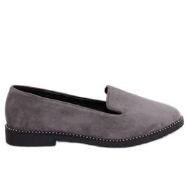 Grijs Grijze heren grijze loafers N90 Gray