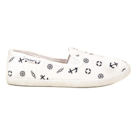 Vices VICE sailor slippers wit