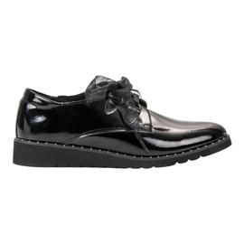 Filippo Zwart gelakte schoenen