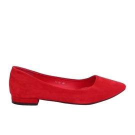 Ballerina's met amandeltenen rood RC-76 Rood