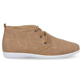 Bruin Hoge elegante schoenen 3569 Camel