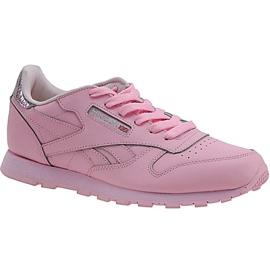 Reebok Classic Leather Metallic Jr BD5898 schoenen roze