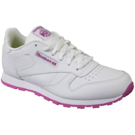 Reebok Classic Leather Jr BS8044 schoenen wit