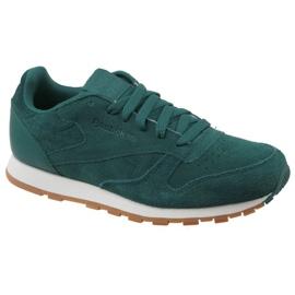 Reebok Cl Leather Sg JRCM9079 schoenen groen