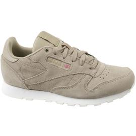 Reebok Cl Leather Mcc Jr CN0000 schoenen grijs