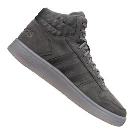 Grijs Adidas Hoops 2.0 Mid M B44635 schoenen