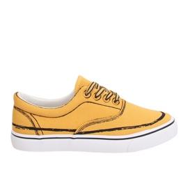 Geel Dames sneakers BS103 Geel