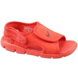 Rood Nike Sunray Adjust 4 Ps Jr 386518-603 sandalen