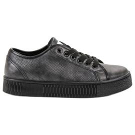 Marquiz Zwarte sneakers