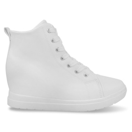 Modieuze eenvoudige sneakers GFA97 Wit