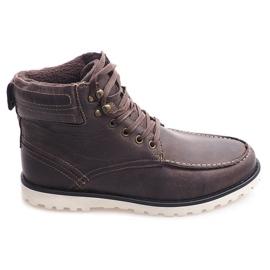 Hoge laarzen, schoenen SH26 Bruin