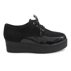 Boots Creepers On Platform MJ1358 Zwart