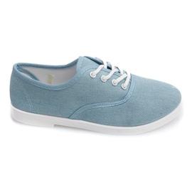 Sneakers laag C91 blauw