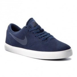 Marine Nike SB Check Suede Jr AR0132-400 schoenen