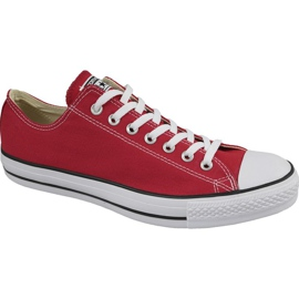 Rood Converse C. Taylor All Star Ox Optical Red M M9696 schoenen