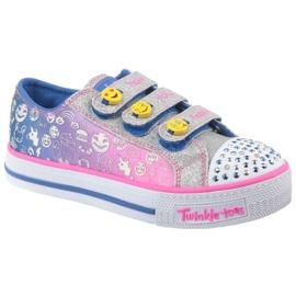 Skechers Step Up Jr 10704L-BLNP schoenen veelkleurig