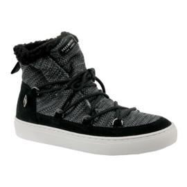 Skechers Side Street W 73578-BLK schoenen zwart