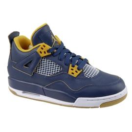 Nike Jordan Jordan 4 Retro Bg Jr 408452-425 schoenen marine
