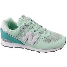 Green Sports dames New Balance ButyModne.pl