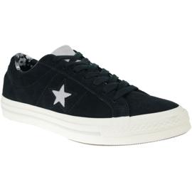 Converse One Star M C160584C schoenen zwart