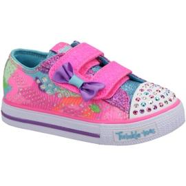 Veelkleurig Skechers Shuffles Jr 10834N-NPMT schoenen
