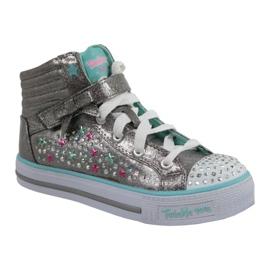 Skechers Shuffles Jr 10712L-GUTQ schoenen grijs