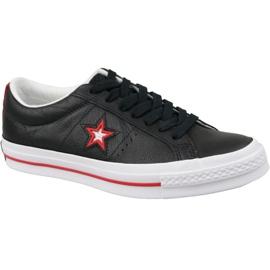 Converse One Star M 161563C schoenen zwart