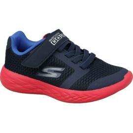 Skechers Go Run 600 Jr 97860L-NVRD schoenen marine
