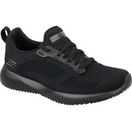 Zwart Skechers Bobs Squad W 31362-BBK schoenen