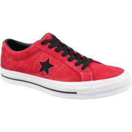 Converse One Star M 163246C schoenen rood