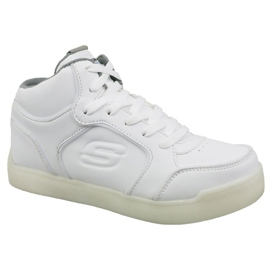 Skechers Energy Lights Jr 90622L-WHT schoenen wit
