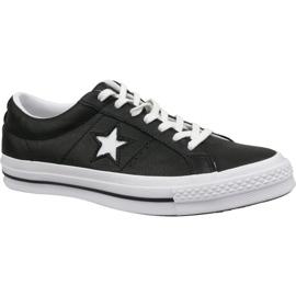 Converse schoenen One Star Ox 163385C zwart