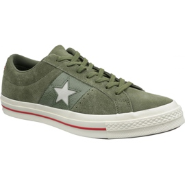 Converse One Star schoenen 163198C groen