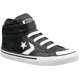 Zwart Converse Pro Blaze Strap Hi Jr 663608C schoenen