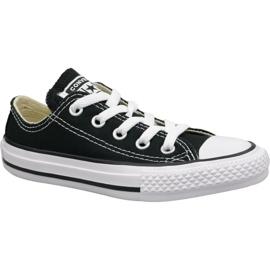 Zwart Converse C. Taylor All Star Youth Ox Jr 3J235C schoenen