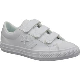 Wit Converse Star Player Ev Ox Jr 651830C schoenen