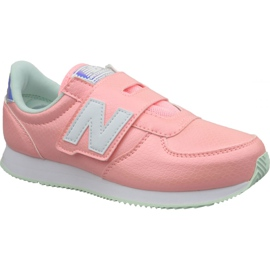 Roze New Balance Jr PV220M1 schoenen
