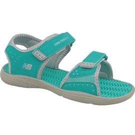 Groen New Balance Jr K2004GRG sandalen blauw