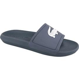 Marine Lacoste Croco Slide 119 1 M slippers 737CMA0018092