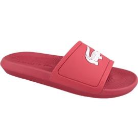 Rood Lacoste Croco Slide 119 1 M slippers 737CMA001817K