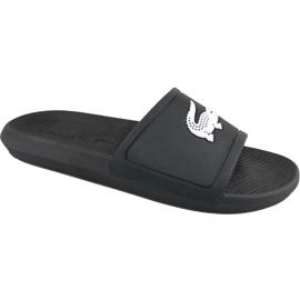 Zwart Lacoste Croco Slide 119 1 M slippers 737CMA0018312
