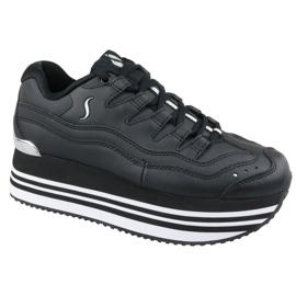 Skechers Highrise High Energy Platform W 73937-BLK schoenen zwart