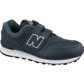 New Balance YV574ERV Jr schoenen marineblauw