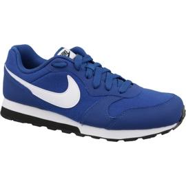 Nike Md Runner 2 Gs Jr 807316-411 schoenen blauw