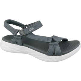 Sandalen Skechers On The Go 600 15316-CHAR grijs