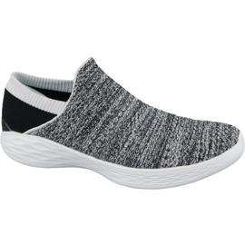 Skechers You W 14951-WBK schoenen grijs