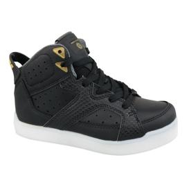 Zwart Skechers E-Pro Street Quest Lights Jr 90615L-BLK schoenen