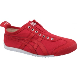 Asics rood Onitsuka Tiger Mexico 66 Slip-On M D3K0N-600 schoenen