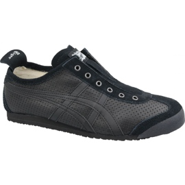 Asics zwart Onitsuka Tiger Mexico 66 Slip-On M D815L-909 schoenen