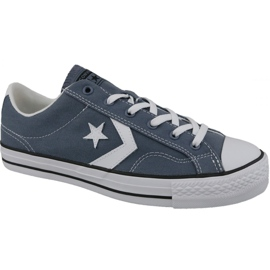 Blauw Converse Player Star Ox M 160557C schoenen